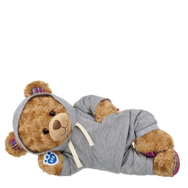 Online Exclusive Worry-Free Bear Grey Loungewear Gift Set, , hi-res