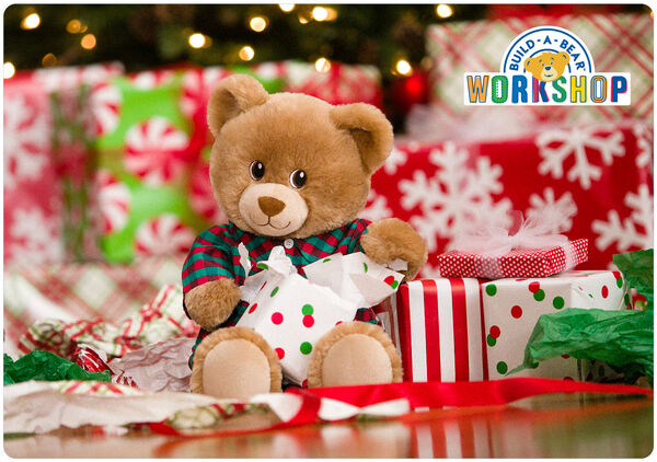 Make Christmas wishes come true with an e-gift card to Build-A-Bear Workshop! This fun-filled gift card is on everyone's wish list and makes a thoughtful gift they'll always rememBEAR!