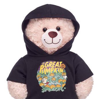 Online Exclusive Peanuts® Great Pumpkin Hoodie - Build-A-Bear Workshop®
