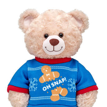 Online Exclusive Oh Snap Christmas Sweater - Build-A-Bear Workshop®