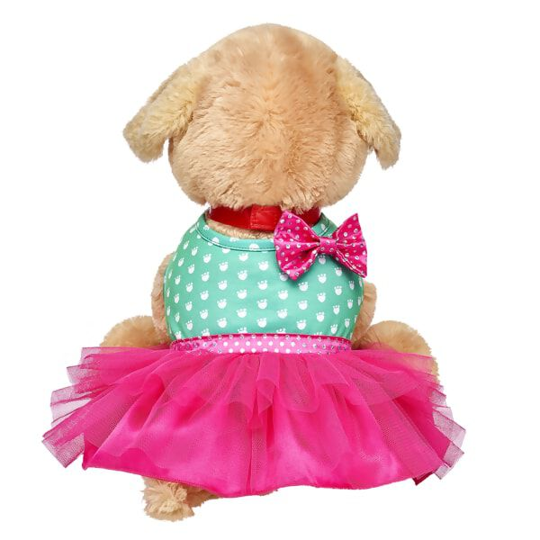 Promise Pets™ Green & Pink Dress, , hi-res