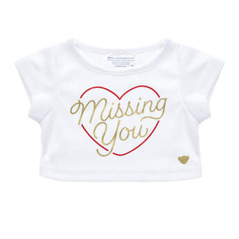 Online Exclusive Missing You T-Shirt - Build-A-Bear Workshop®