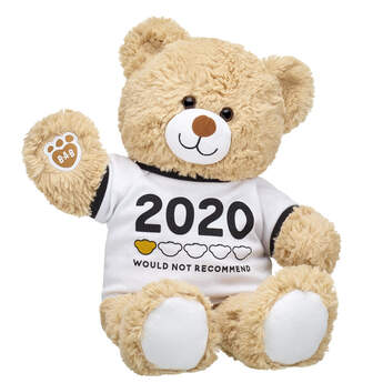 Online Exclusive Cuddly Brown Bear 2020 Would Not Recommend Gift Set, , hi-res