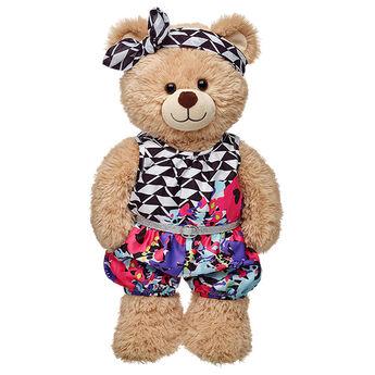 Honey Girls Misha Floral Romper 2 pc., , hi-res