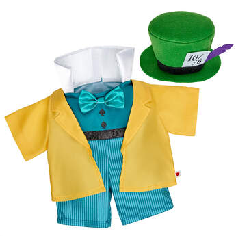 Online Exclusive Disney Mad Hatter Costume - Build-A-Bear Workshop®