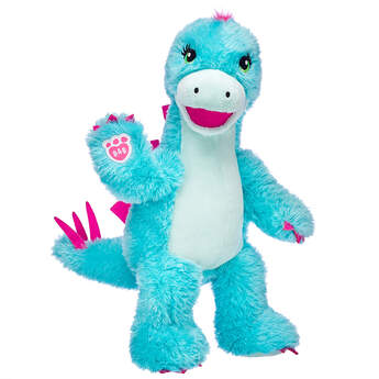 Online Exclusive Turquoise Stegosaurus - Build-A-Bear Workshop®