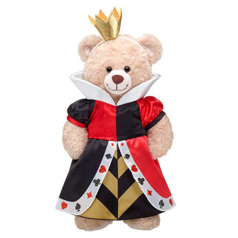 Online Exclusive Disney Queen of Hearts Costume - Build-A-Bear Workshop®