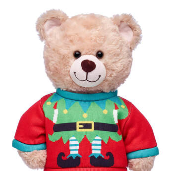 Christmas Elf Sweater - Build-A-Bear Workshop®