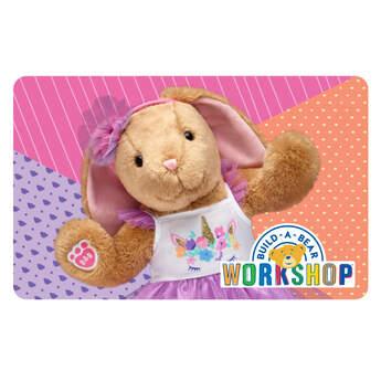 Pawlette™ Unicorn Gift Card - Build-A-Bear Workshop®