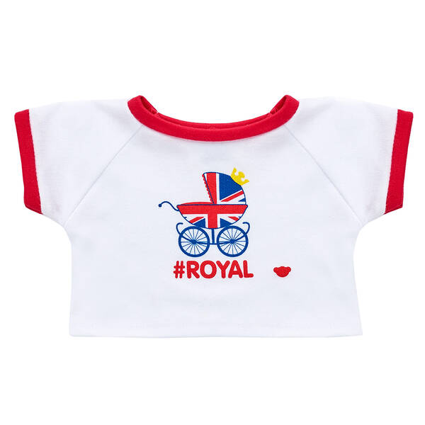 Online Exclusive #Royal Baby T-Shirt - Build-A-Bear Workshop®