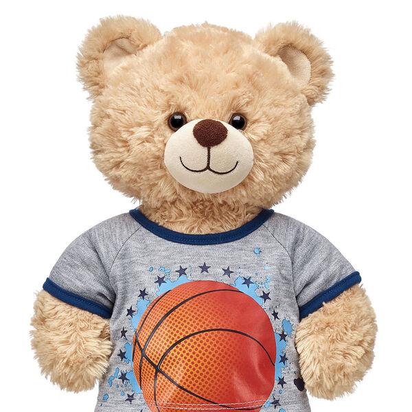 Grey Basketball T-Shirt, , hi-res
