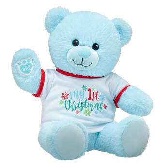 Online Exclusive Blue Baby Bear My First Christmas Gift Set, , hi-res