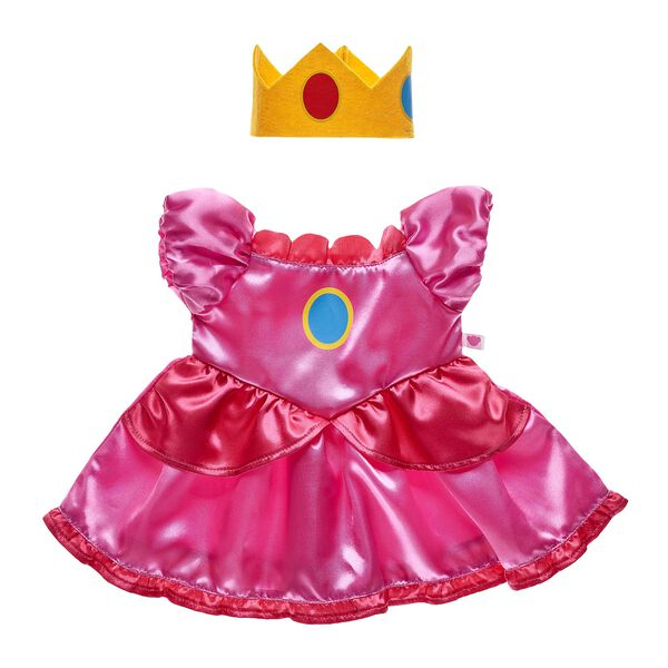 Princess Peach Costume 2 pc., , hi-res