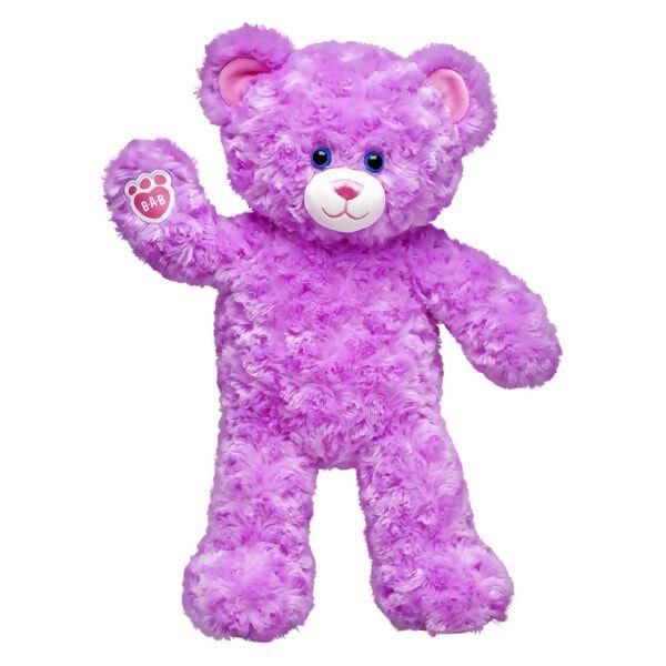Online Exclusive Lavender Cuddles Teddy, , hi-res