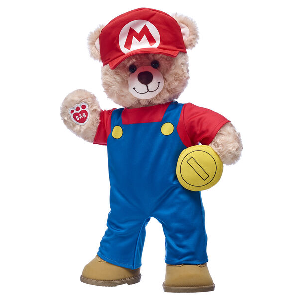 Happy Hugs Teddy Mario Gift Set, , hi-res