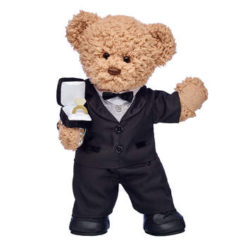 Online Exclusive Timeless Teddy Groom Gift Set, , hi-res