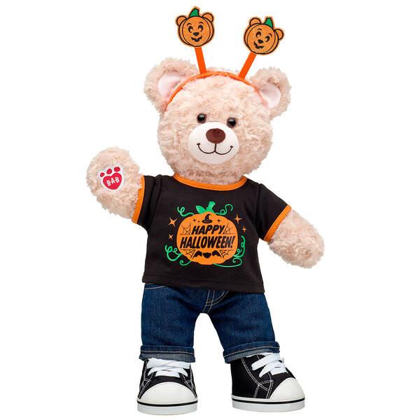 Happy Hugs Teddy Halloween Gift Set, , hi-res