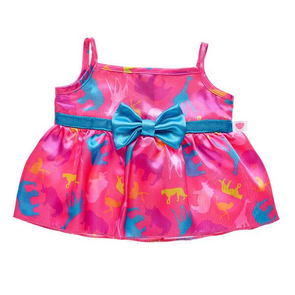 Pink Animal Print Dress - Build-A-Bear Workshop®