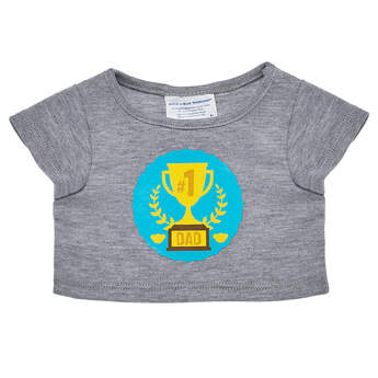 #1 Dad T-Shirt - Build-A-Bear Workshop®