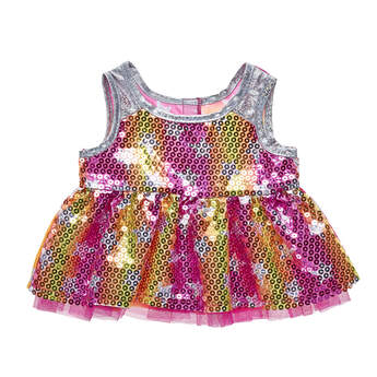 Honey Girls Sequin Star Dress - Build-A-Bear Workshop®