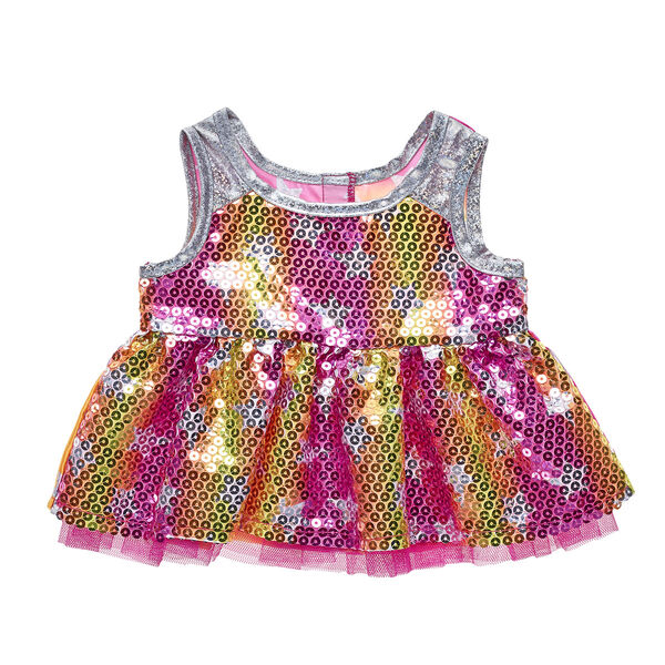 Honey Girls Sequin Star Dress, , hi-res