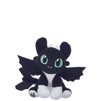 Black & White Nightlight with Green Eyes - Build-A-Bear Workshop®