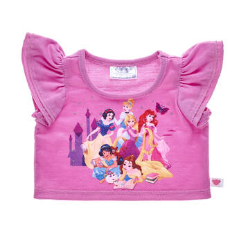 Pink Disney Princess T-Shirt - Build-A-Bear Workshop®