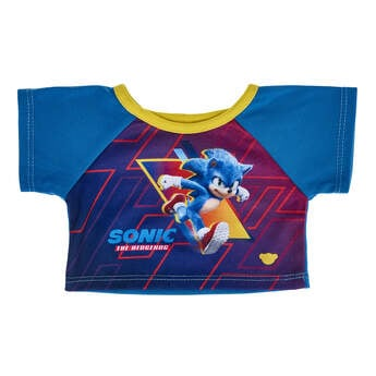 Online Exclusive Sonic the Hedgehog T-Shirt - Build-A-Bear Workshop®