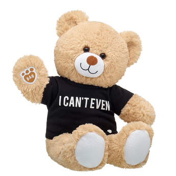 Online Exclusive Cuddly Brown Bear I Can't Even Gift Set, , hi-res