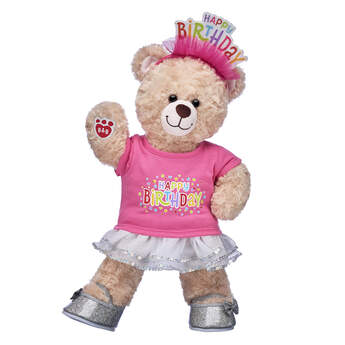 Happy Hugs Teddy Pink Birthday Gift Set, , hi-res