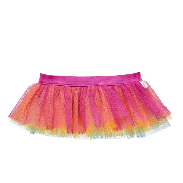 Twirl in every colour with this bright Rainbow Tutu! Shop for unique stuffed animal clothing & accessories at Build-A-Bear Workshop.
