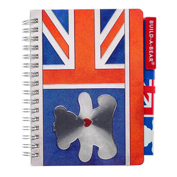 Union Jack Notepad and Pen - Build-A-Bear Workshop®
