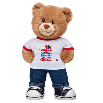 Online Exclusive Lil' Cub® Brownie #Royal Baby Gift Set, , hi-res