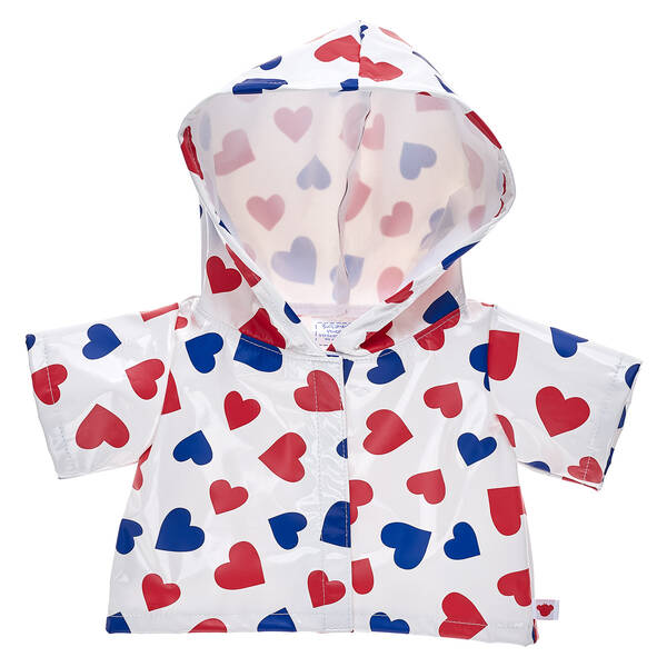 Heart Raincoat - Build-A-Bear Workshop®