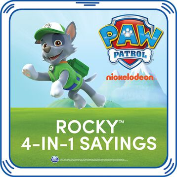 PAW Patrol Rocky 4-in-1 Sayings, , hi-res