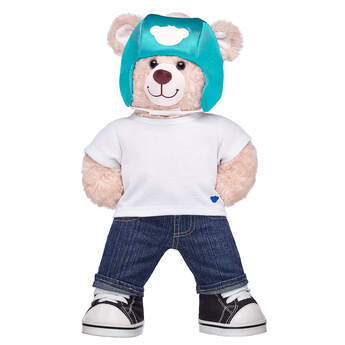 Online Exclusive Happy Hugs Teddy Medical Helmet Gift Set, , hi-res