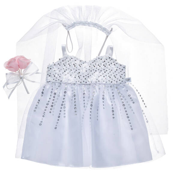 Wedding Dress Set 3 pc. - Build-A-Bear Workshop®