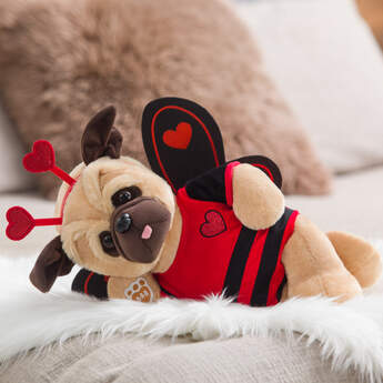 Online Exclusive Love Pug Gift Set, , hi-res