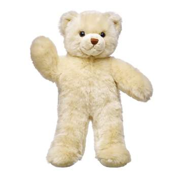 Sweet Cream Bear is ready for whatever adventures the day has in store! This classic teddy has soft cream-coloured fur with a chocolate brown nose. Outfit Sweet Cream Bear in a variety of clothes and accessories to give him a one-of-a-kind personality!