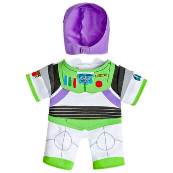 "To infinity and beyond! Looking for an out-of-this-world costume for your furry friend? Look no further that this Buzz Lightyear costume. This officially licensed costume will transform your furry friend into the famous astronaut from ""Toy Story"".  Disney / Pix"