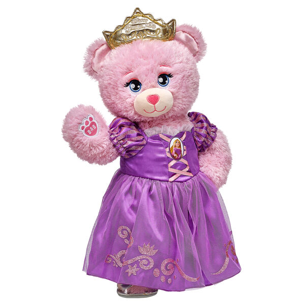 Princess Rapunzel Disney Princess Inspired Bear Set, , hi-res