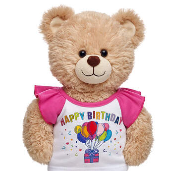 Pink Birthday Tee - Build-A-Bear Workshop®