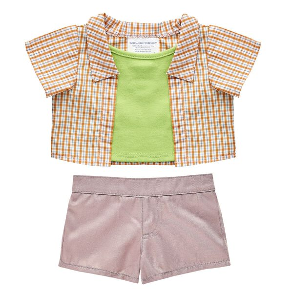 Online Exclusive Orange & Green Easter Outfit 2 pc., , hi-res