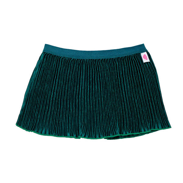 Online Exclusive Emerald Pleated Skirt - Build-A-Bear Workshop®