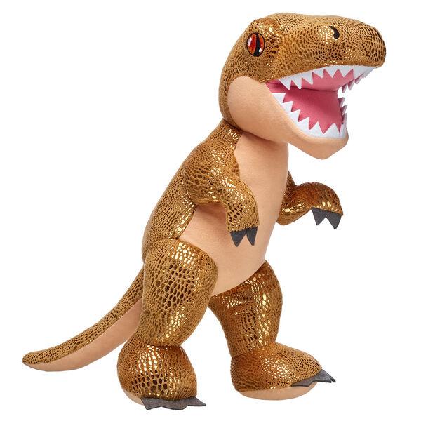 Online Exclusive Gold Tyrannosaurus Rex, , hi-res