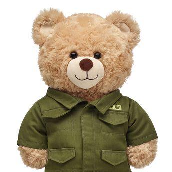 Olive Army Jacket, , hi-res