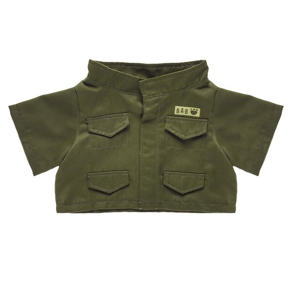 Olive Army Jacket, , hi-res