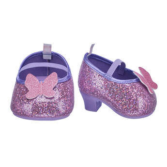 Purple Butterfly Heels - Build-A-Bear Workshop®