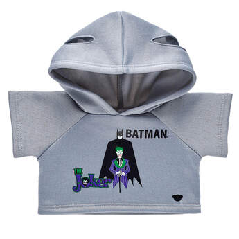 Batman™ and The Joker™ Hoodie - Build-A-Bear Workshop®