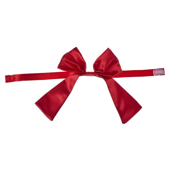 Red Valentine's Day Bow, , hi-res